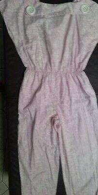 80er Jahre Original Orsay Damen Mädchen Overall pastellrosa Gr. 1 (ca. 36)