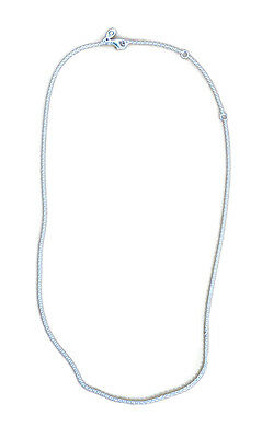 """Authentic PANDORA Sterling Silver Chain Necklace Adjustable 17.7"""" - 590412-45"""