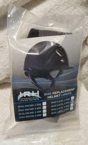 IRH IR4G Grey Replacement Helmet Liner Large, 3mm