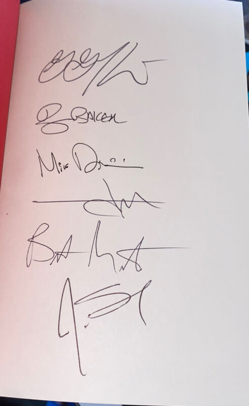 Bad Religion Signed Book Do What You Want 6 Sigs Greg Graffin +5
