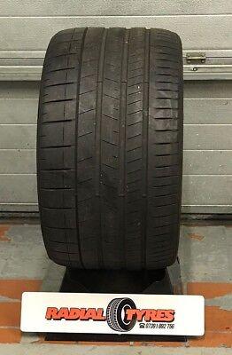 1x 355-25-21 107y Pirelli P zero PART WORN Tyre Lamborghini