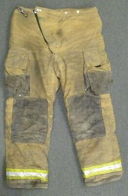 42x30 Globe Tan Firefighter Pants Turnout Bunker Fire Gear P035