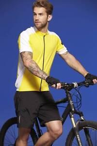 James-amp-Nicholson-Uomo-CYCLING-a-Maniche-Corte-S-M-L-XL-2xl-3xl-Maglia-Bicicletta-Maglia