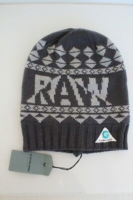 15c72aa5cde G Star Raw Muffle-Jaq Beanie Hat in Petrol BNWT 100% Authentic