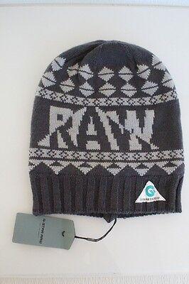3b0c815b281 G Star Raw Muffle-Jaq Beanie Hat in Petrol BNWT 100% Authentic