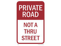 """12/""""w x 18/""""h Resident Only Parking Sign PVC Full Color"""