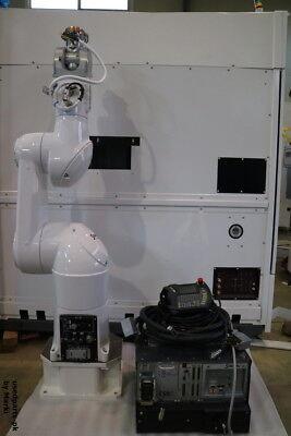 Staubli Unimation Tx90 Scrmat Cs8c Tx90scr Controller Teaching Pendant Set