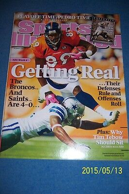 2009 Sports Illustrated Denver Broncos Daniel Graham No Label News Stand