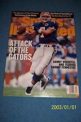 1995 Sports Illustrated Florida Gators Danny Wuerffel No Label News Stand N Lab