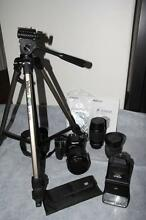 Pentax K100D Camera and Accessory Kit Leeming Melville Area Preview