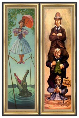 HAUNTED MANSION STRETCHING ROOM PART3  - COLLECTOR POSTER 4 SIZES  (B2G1 FREE!!)