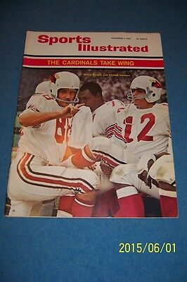 1965 Sports Illustrated St Louis Cardinals Nfl Charlie Johnson No Label News St