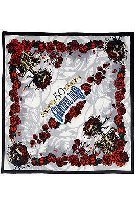 GRATEFUL DEAD-50th ANNIVERSARY BERTHA BANDANA-BANDANAS-HEADBAND 23 X 23 Garcia