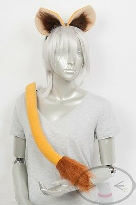 Lion Tail and Ears Set Cosplay Accessories Costume](Lion Ears And Tail)