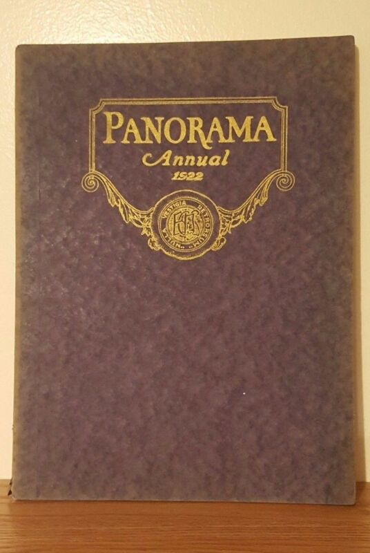 1922 Panorama Annual Yearbook Binghamton Central High School New York