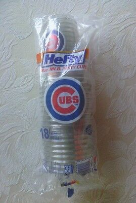 2016 Chicago Cubs World Series Champions Hefty 18 18 Ounce Cups