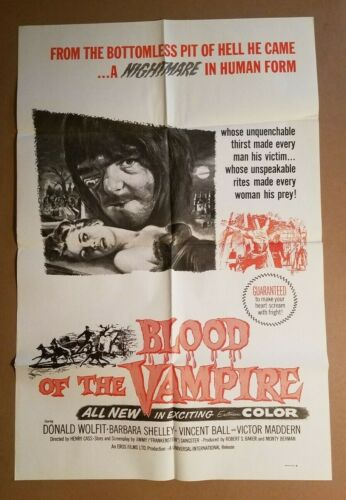BLOOD OF THE VAMPIRE R