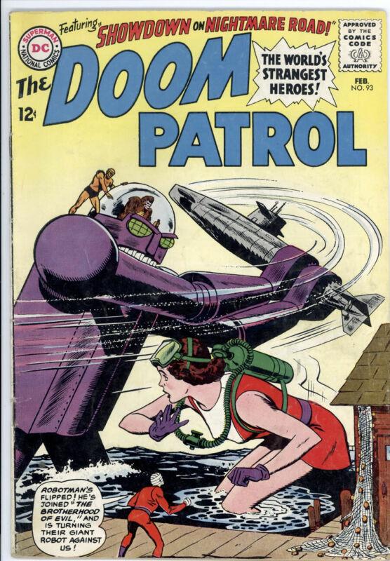 DOOM PATROL #93