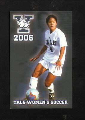 Yale Bulldogs  2006 Soccer Pocket Schedule  New Haven Register