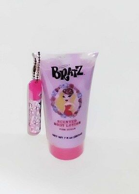Bratz Pink Sugar Scented Body Lotion 7 Oz With Matching Lip Balm Sealed