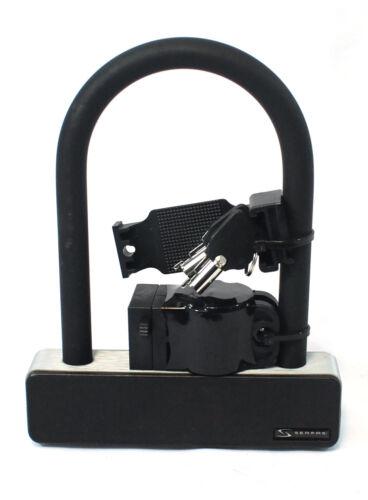 Serfas UL-140 U-Lock Bike Lock with Keys and Frame Mount Bic