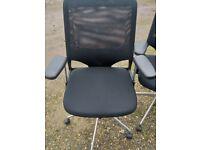 Bürodrehstuhl  Vitra MEDA 2 Chair Bürodrehstuhl Netz Chromgestell