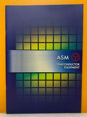 Asm Semiconductor Equipment Products Catalog.
