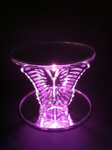 ACRYLIC BUTTERFLY WEDDING CAKE STAND/ SEPERATOR - FREE LIGHT AND CAKE BOARD!
