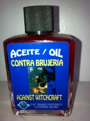 MYSTICAL OIL (ACEITE) FOR SPELLS & ANOINTING 1/2 OZ AGAINST WITCHCRAFT