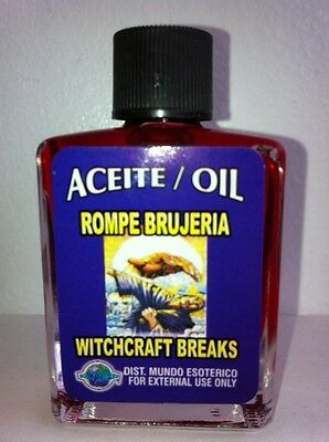 MYSTICAL / SPIRITUAL OIL ACEITE FOR SPELLS & ANOINTING 1/2 OZ BREAK WITCHCRAFT