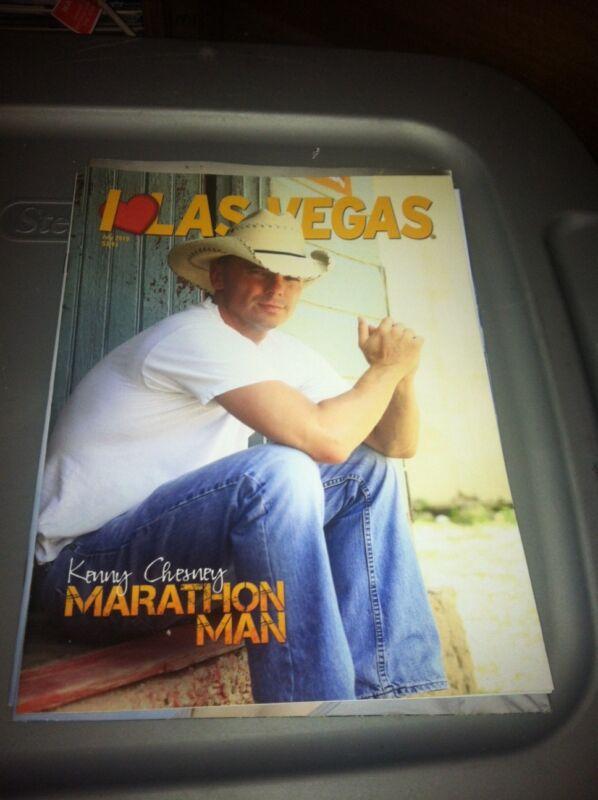 Cover of Kenny Chesney on I Love Las Vegas magazine