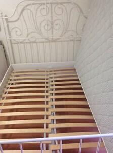 Ikea Double Bed With Mattress Rockdale Rockdale Area Preview