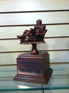 Fantasy Football Quot Armchair Quarterback Quot Trophy Free