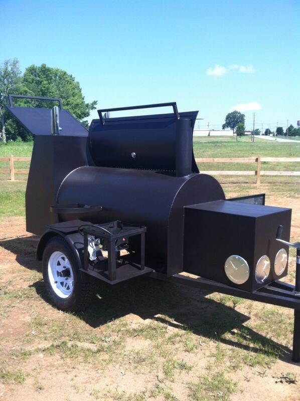 Competetion Bbq Trailer Smoker - Super Nice - Brand New Barbeque Cooker - Cheap
