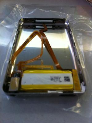 Cover argento + flat audio jack assemblato + batteria per iPod video 160GB Thick Video Ipod Cover