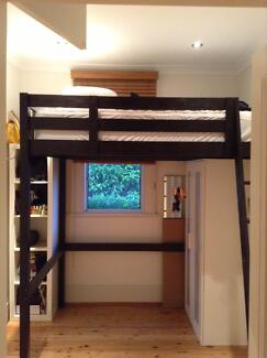 IKEA Stora bunk bed - with new quality mattress! Hunters Hill Hunters Hill Area Preview
