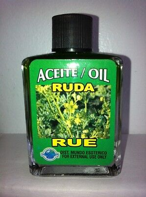 MYSTICAL / SPIRITUAL OIL ACEITE FOR SPELLS & ANOINTING 1/2 OZ RUE ( RUDA )