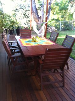 7 Piece Outdoor Dining Setting Windsor Brisbane North East Preview