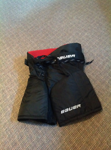 Bauer Junior Vapor 80 Hockey Pants- Black/Medium