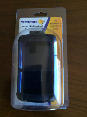 Seidio SURFACE Case and Holster Combo for BlackBerry Curve 8330 - Black Blackberry Curve 8330 Holster