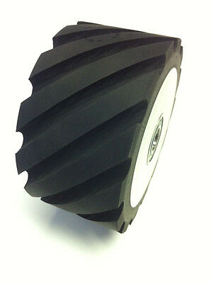 Belt Grinder Rubber Wheel For 2x72 Knife Making Grinder