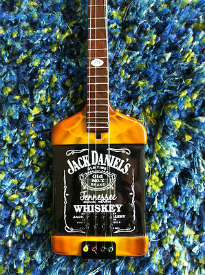Michael Anthony Van Halen ChickenFoot Jack Daniels Bass Miniature Guitar Replica on Rummage