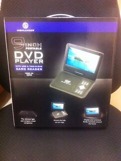 Highlander Portable DVD Player - NEW in box Seaton Charles Sturt Area Preview
