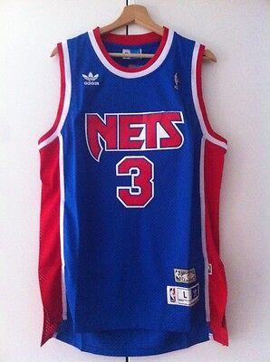 Canotta nba basket maglia Drazen Petrovic New Jersey Nets maglietta S/M/L/XL/XXL