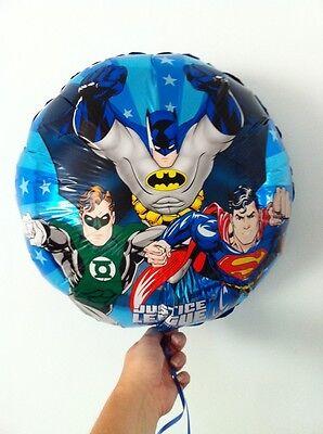 5 Justice League w/ Batman Superman Foil Mylar 18