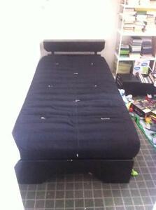 Single Futon Bed with Matress Coburg Moreland Area Preview