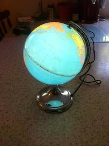 World Globe Desk Lamp Excellent condition Dural Hornsby Area Preview