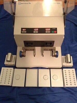 Retsch Mm400 Mixer Mill Grinder Choice 1 Set Qiagen Tissuelyser Ii 2 Adapters