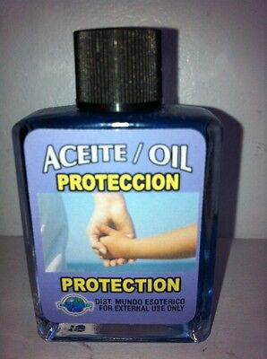MYSTICAL / SPIRITUAL OIL (ACEITE) FOR SPELLS & ANOINTING 1/2 OZ FOR PROTECTION