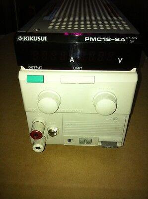 Kikusui Pmc18 - 2a Power Supply 0-18v 2a